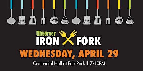 Dallas Observer Iron Fork tickets
