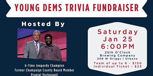 Young Democrats Trivia Fundraiser