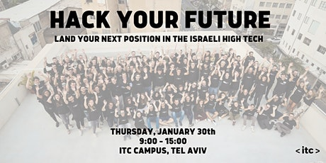 Hack Your Future - Land your next position in the Israeli high tech tickets