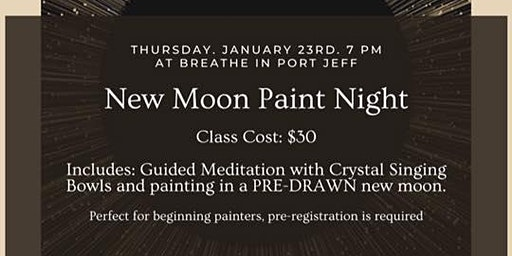 New Moon Workshop (added Tickets)