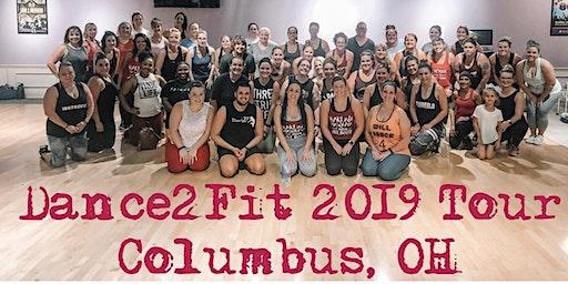 Columbus, OH Dance2Fit 90 min Class w/ Jessica James on 2/22/20 @7pm