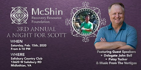 """3rd Annual """"A Night For Scott"""" tickets"""
