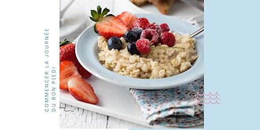 Bien Déjeuner: option végé et cru (raw foods)