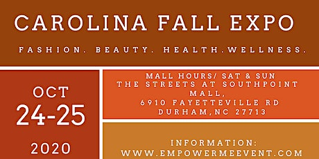 Carolina Fall Expo tickets