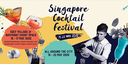 Singapore Cocktail Festival Village 2020