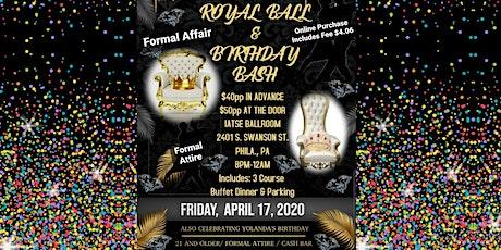 Royal Ball & Birthday Bash 2020 Formal Affair tickets
