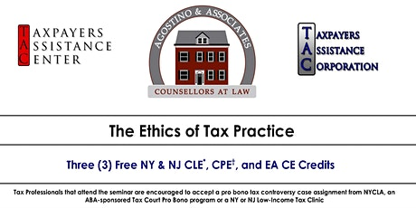 The Ethics of Tax Practice tickets