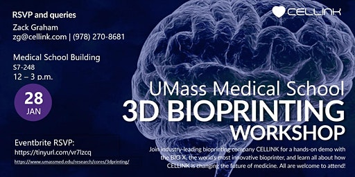 3D Bioprinting Workshop - UMMS