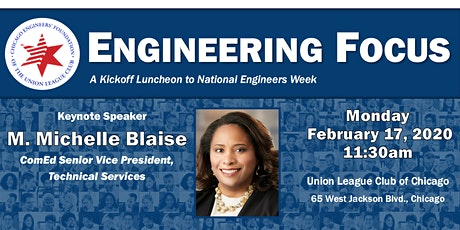 Engineering Focus:  A Kickoff Luncheon to National Engineers Week tickets