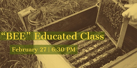 Bee Educated Class & Honey Tasting (PM) tickets