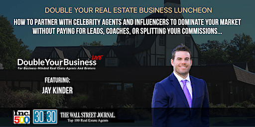 Double Your Real Estate Business Luncheon - Virginia - Jan 23rd