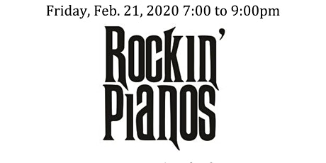 Rockin' Pianos 2020 tickets