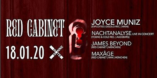RED CABINET w/ JOYCE MUNIZ & NACHTANALYSE LIVE