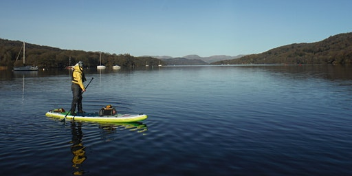 British Canoeing Open Water SUP Coach Training Course