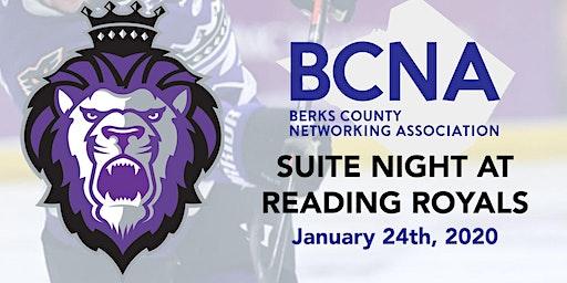 BCNA Suite Night at Reading Royals