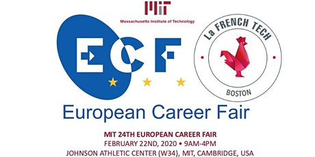 Cluster France @MIT European Career Fair tickets