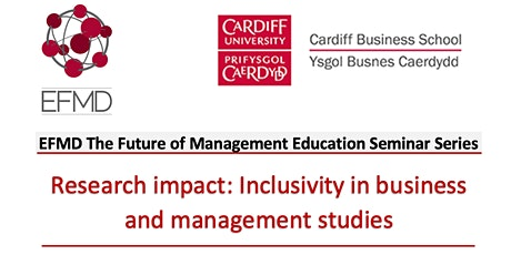 Research impact: Inclusivity in business & management studies tickets