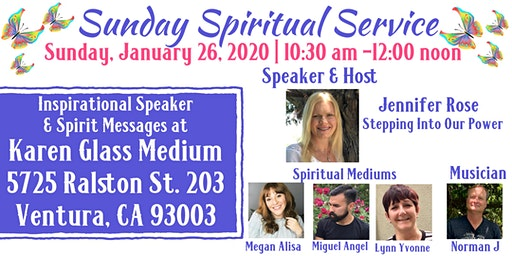 Sunday Spiritual Service
