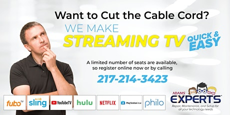 Cut the Cable Cord (Quincy) tickets