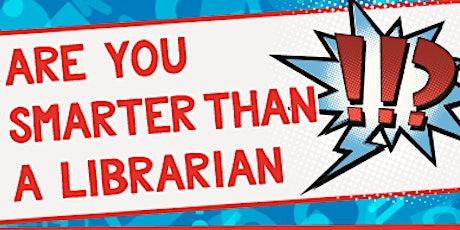 Are You Smarter Than A Librarian Trivia Competition 2020 tickets