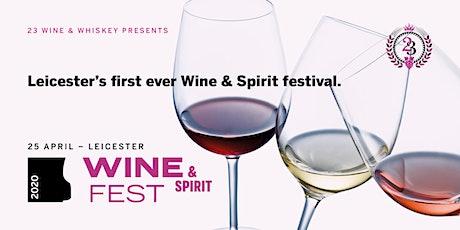 Leicester Wine & Spirit Fest tickets