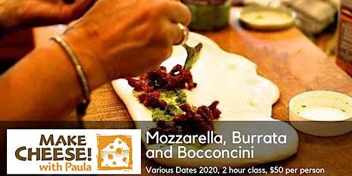 Mozzarella, Burrata and Bocconcini