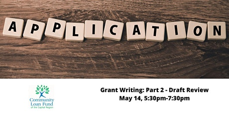Grant Writing: Part 2 - Draft Reviews tickets