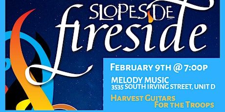 Fireside Concert to Benefit Harvest Guitars for the Troops tickets