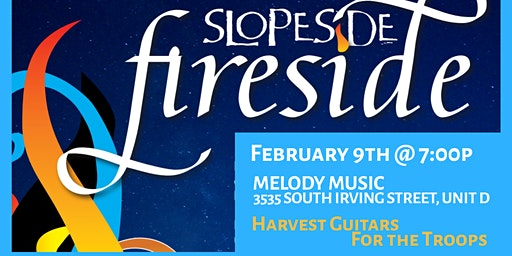 Fireside Concert to Benefit Harvest Guitars for the Troops