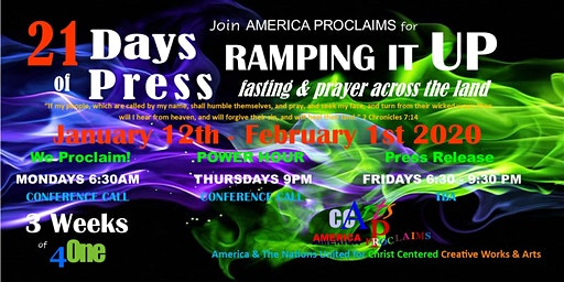 21 Days of Press: Ramping It Up!