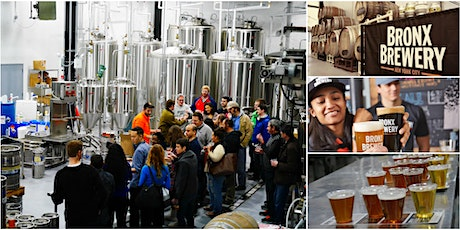 Winter Tour & Beer Tasting @ The Bronx Brewery tickets