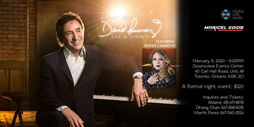 A Night with David Pomeranz featuring Jenifer Camacho | Live in Toronto