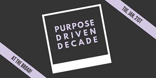 Purpose Driven Decade w. Michelle Mercurio