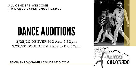 Denver Dance Auditions tickets