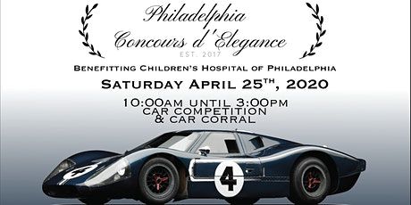 4th Annual Philadelphia Concours d'Elegance tickets