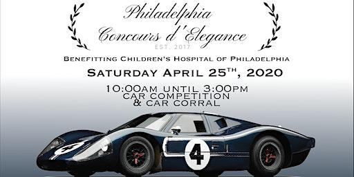 4th Annual Philadelphia Concours d'Elegance