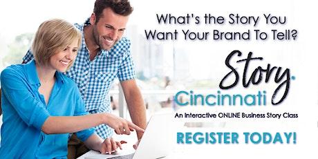 Story Cincinnati  ONLINE Class tickets