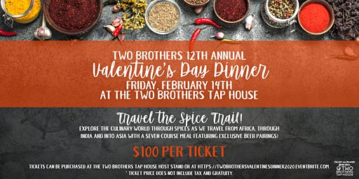 Two Brothers 12th Annual Valentine's Day Dinner