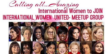 INTERNATIONAL WOMEN UNITED for Community, Friendship, Culture & Support tickets