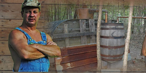 """Tim Smith the star of the hit show """"Moonshiners"""""""