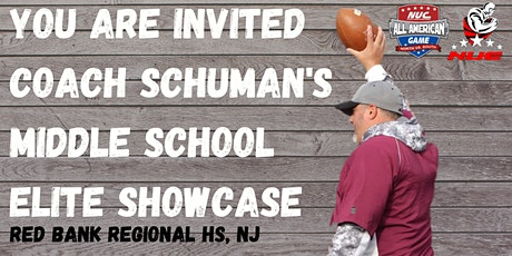 Coach Schuman's Middle School Football Rise Up Skills Showcase & Lineman Camp 2024/2025/2026 Grad Class Only tickets