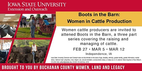 Boots in the Barn tickets