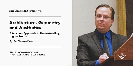 March Stated Communication: Architecture, Geometry, and Aesthetics tickets