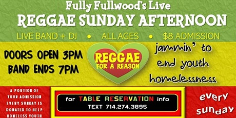 Fully Fullwoods Live Reggae Sunday Afternoon tickets