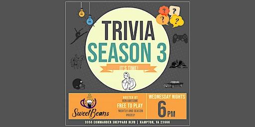 Trivia Season 3 at Sweet Beans