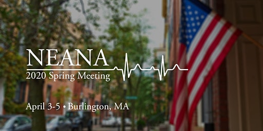 NEANA Spring Meeting 2020 – Exhibitor Registration