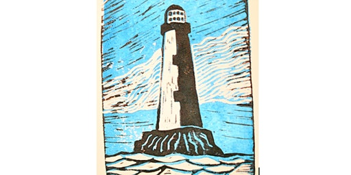 Lino Cut & Print - Just Footprints Chester