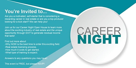 Career Night at EXIT Realty Home Partners tickets