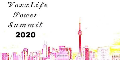 VoxxLife Power Summit 2020 tickets