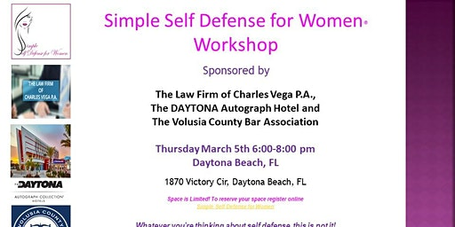 Simple Self Defense for Women Workshop